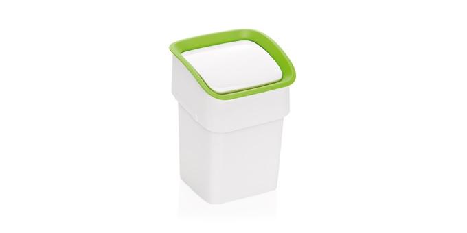 TESCOMA stolní odpadkový koš CLEAN KIT, zelená