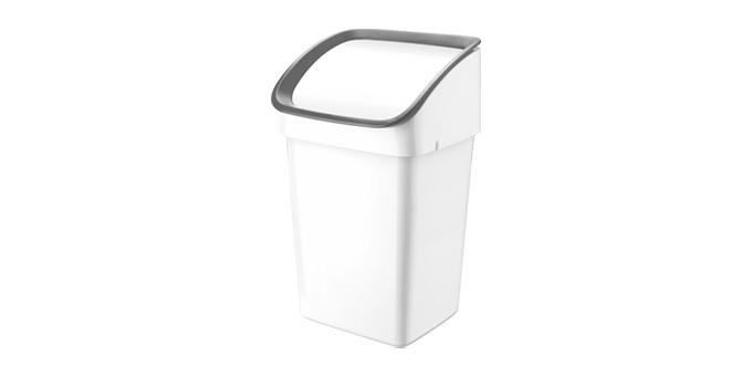 Abfallkorb CLEAN KIT 21 l, grau