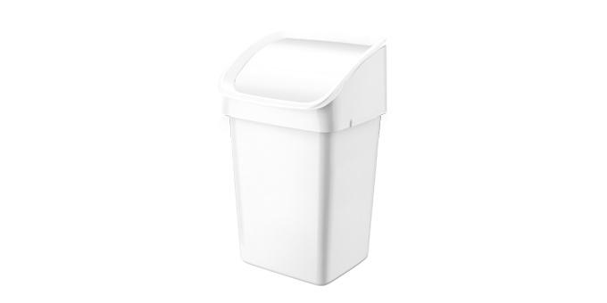 TESCOMA odpadkový koš CLEAN KIT 21 l, bílá