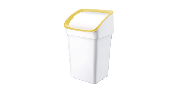 TESCOMA odpadkový koš CLEAN KIT 21 l, žlutá