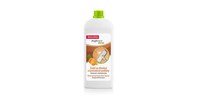 Płyn do mycia drewnianych i laminowanych podłóg ProfiMATE 1000 ml, Pomarańcza i trawa cytrynowa