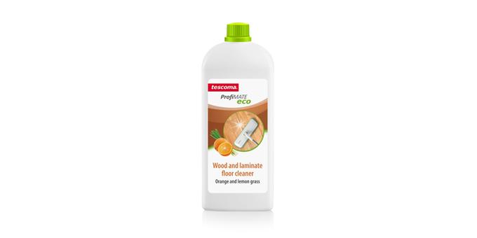 Produto para limpeza de pisos de madeira e laminados ProfiMATE 1.000 ml, Laranja e erva-limão, EN