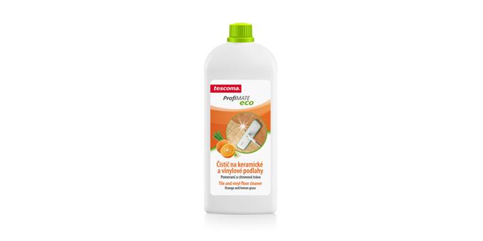 Płyn do mycia ceramicznych i winylowych podłóg ProfiMATE 1000 ml, Pomarańcza i trawa cytrynowa