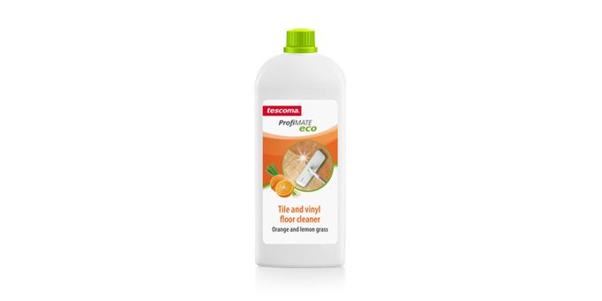 Reiniger für keramische und Vinylbodenbeläge ProfiMATE 1000 ml, Orange und Zitronengras, EN