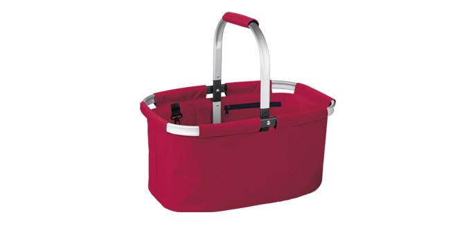 TESCOMA nákupní košík skládací SHOP!, barevný mix, červená
