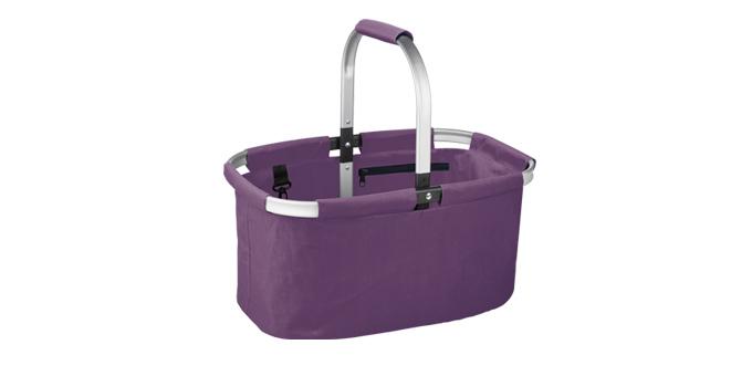 TESCOMA nákupní košík skládací SHOP!, barevný mix, fialová