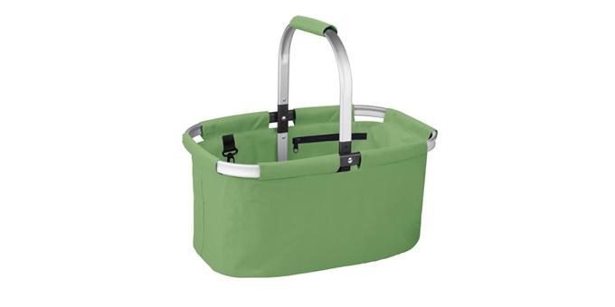 TESCOMA nákupní košík skládací SHOP!, barevný mix, zelená