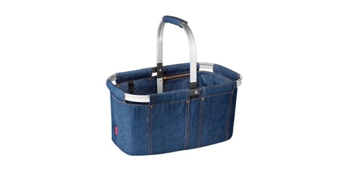 TESCOMA nákupní košík skládací SHOP! denim