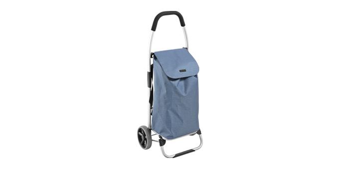 TESCOMA nákupní taška na kolečkách SHOP!, modrá