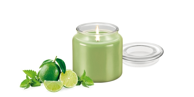 Vonná svíčka FANCY HOME 410 g, Mojito
