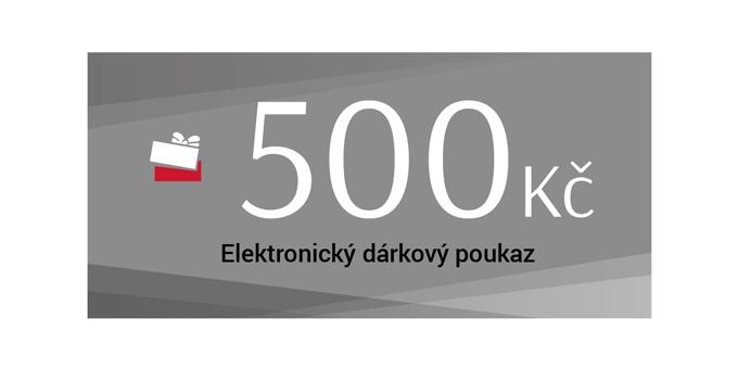 Dárkový poukaz 500 Kč elektronický