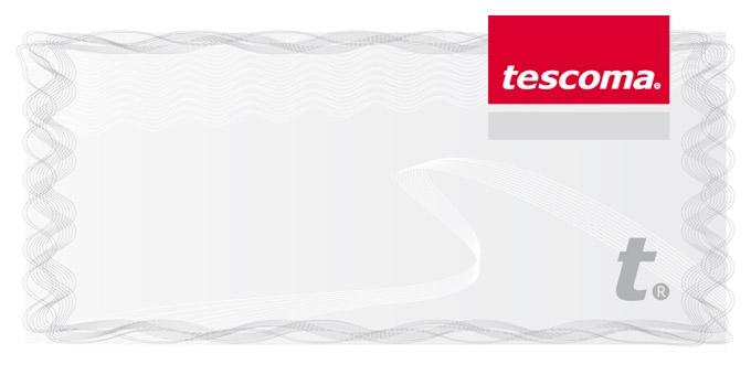 TESCOMA dárkový poukaz 500 Kč