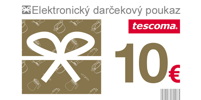 Darčekový poukaz 10 Eur-elektronický