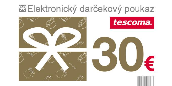 Darčekový poukaz 30 Eur-elektronický