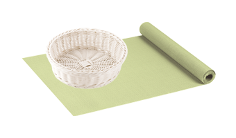 Place mats and serving items