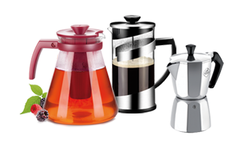 Tea and coffee making, tea and coffee makers