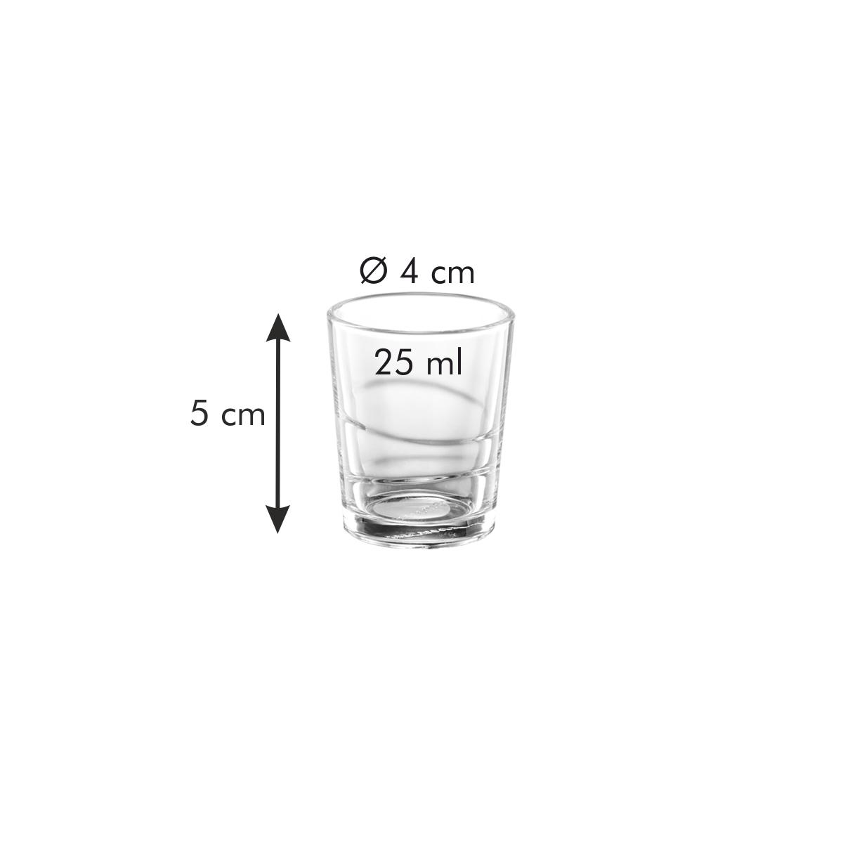 Panák myDRINK 25 ml, 6 ks