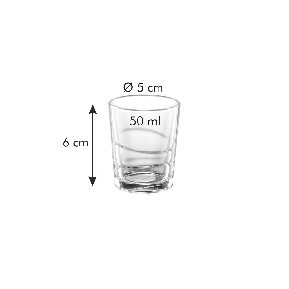 Panák myDRINK 50 ml, 6 ks