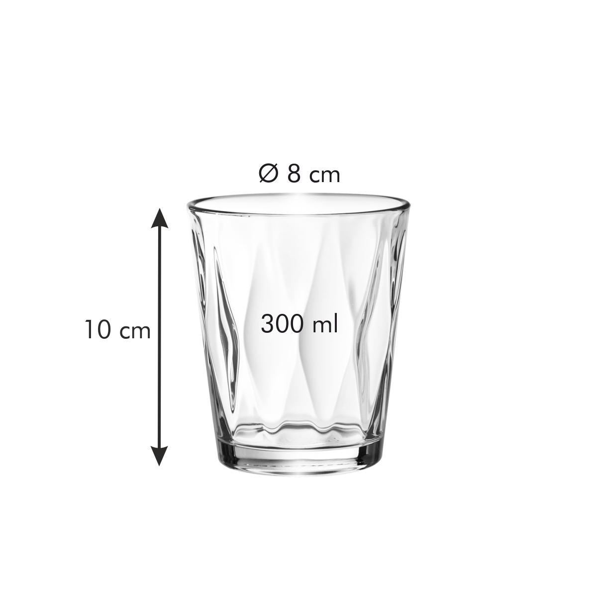 Sklenice myDRINK Optic 300 ml