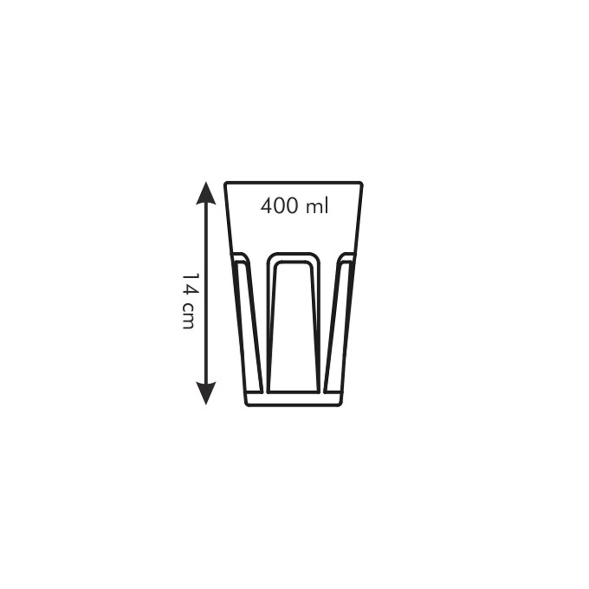 Sklenice FAME 400 ml