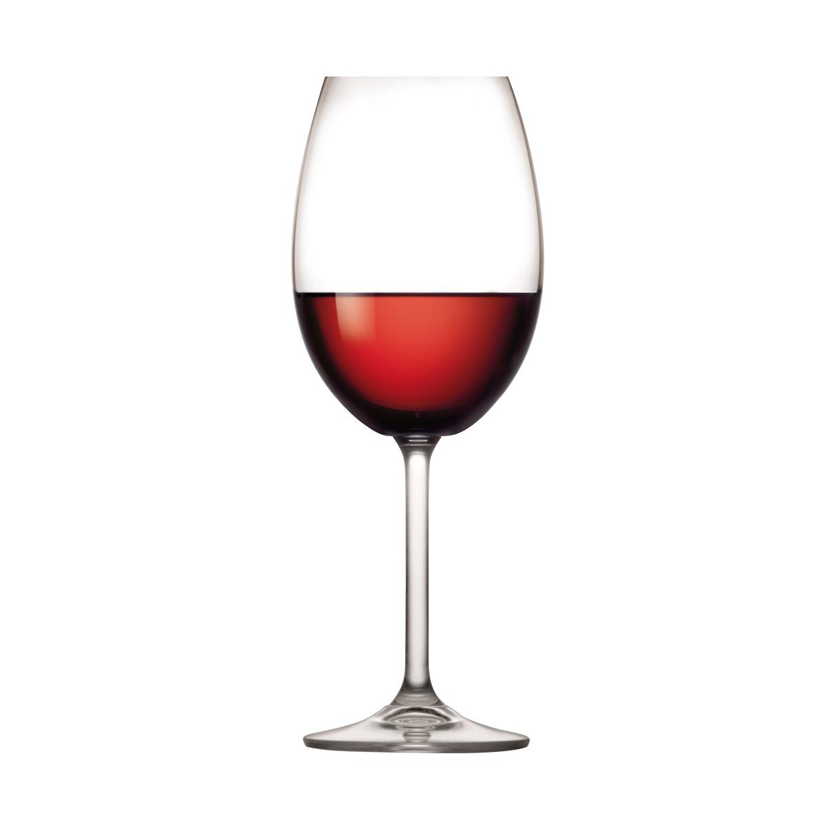 Sklenice na červené víno CHARLIE 450 ml, 6 ks