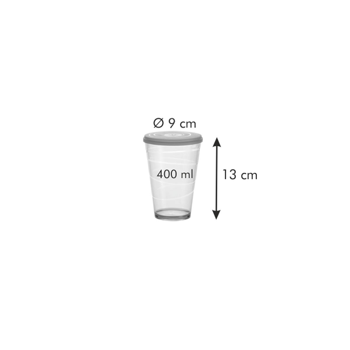 Pohár s víčkem myDRINK 400 ml