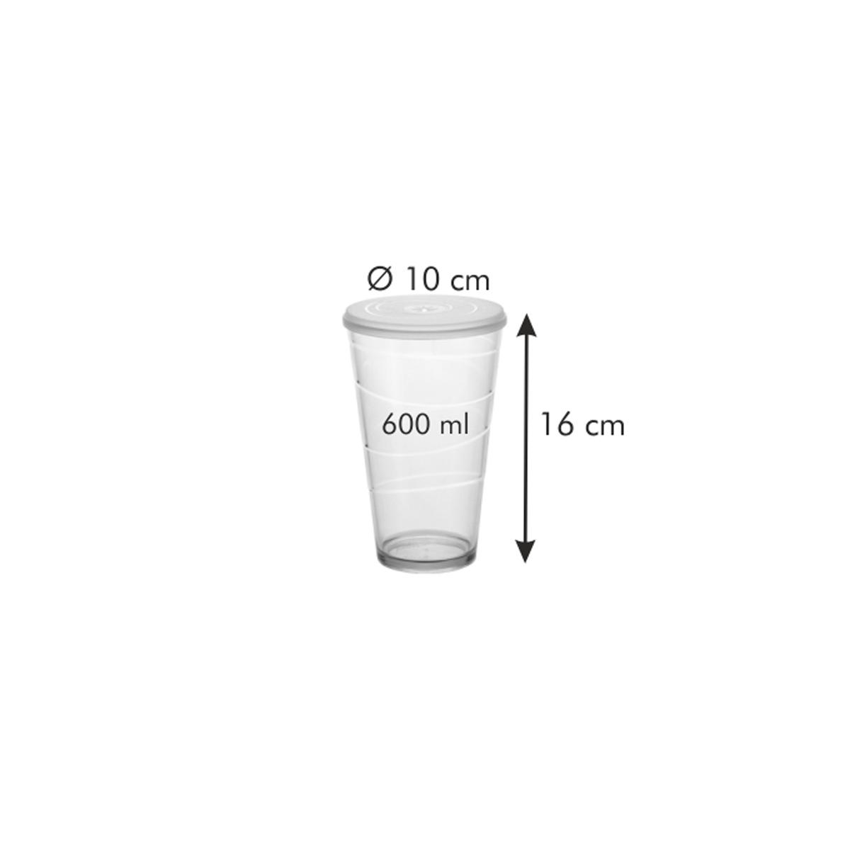 Pohár s víčkem myDRINK 600 ml