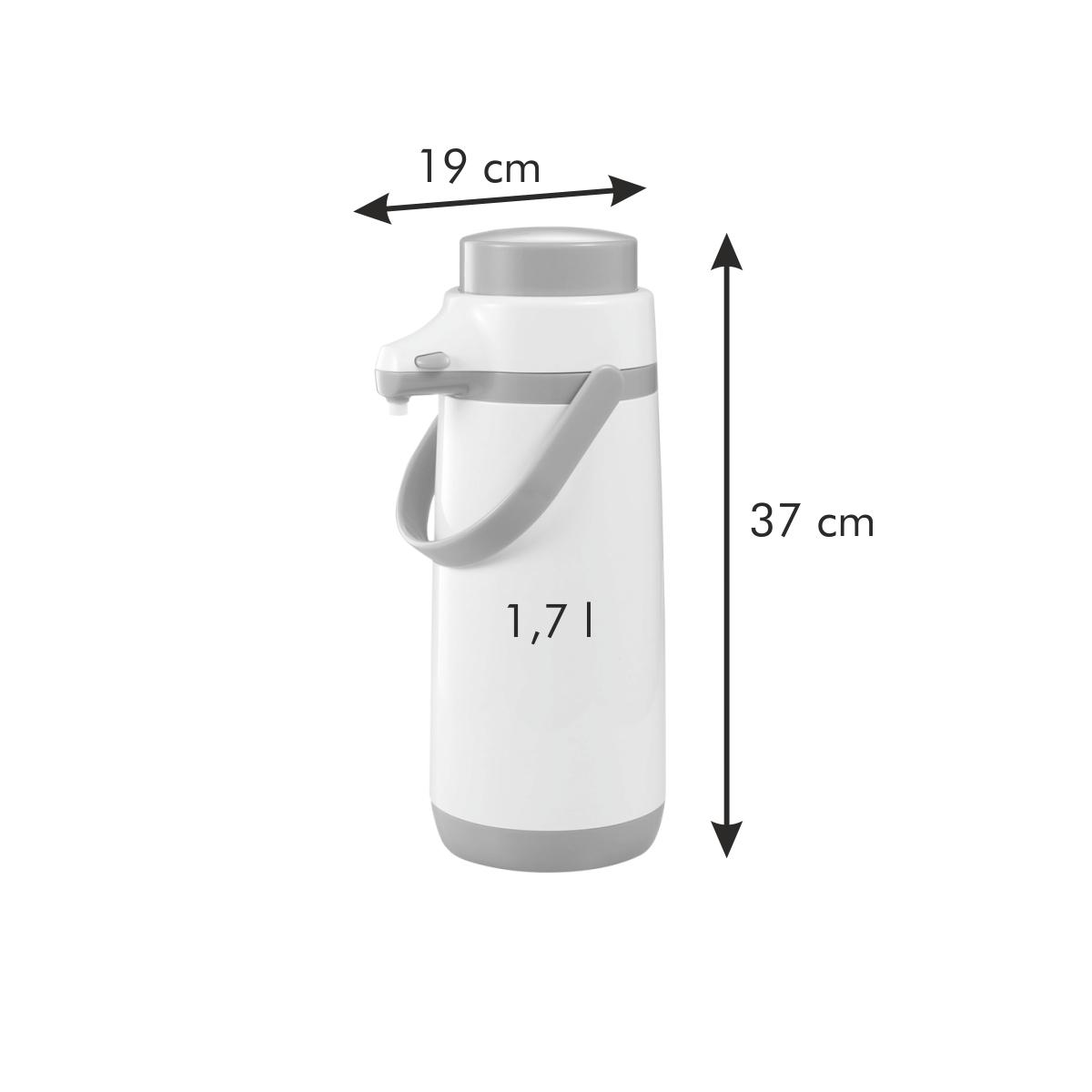 Termoska s pumpičkou FAMILY COLORI 1.7 l