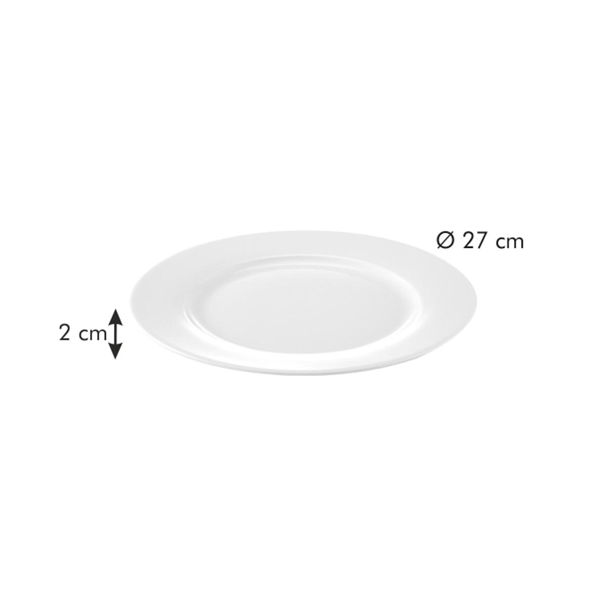 Mělký talíř LEGEND ø 27 cm