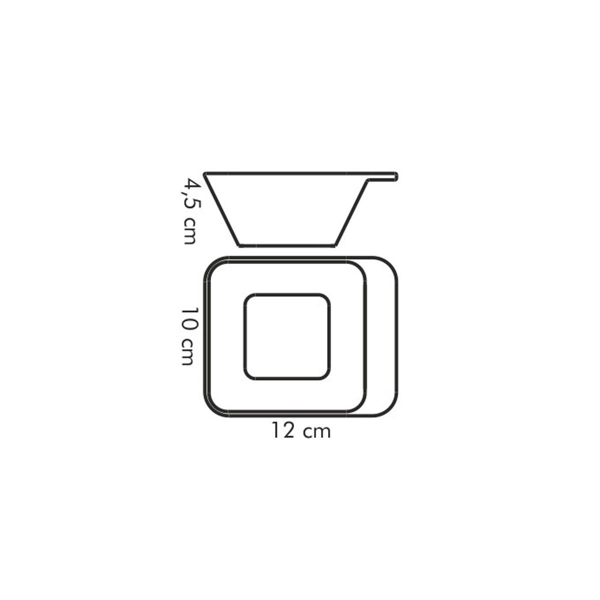 Miska univerzální hluboká GUSTITO 12x10 cm