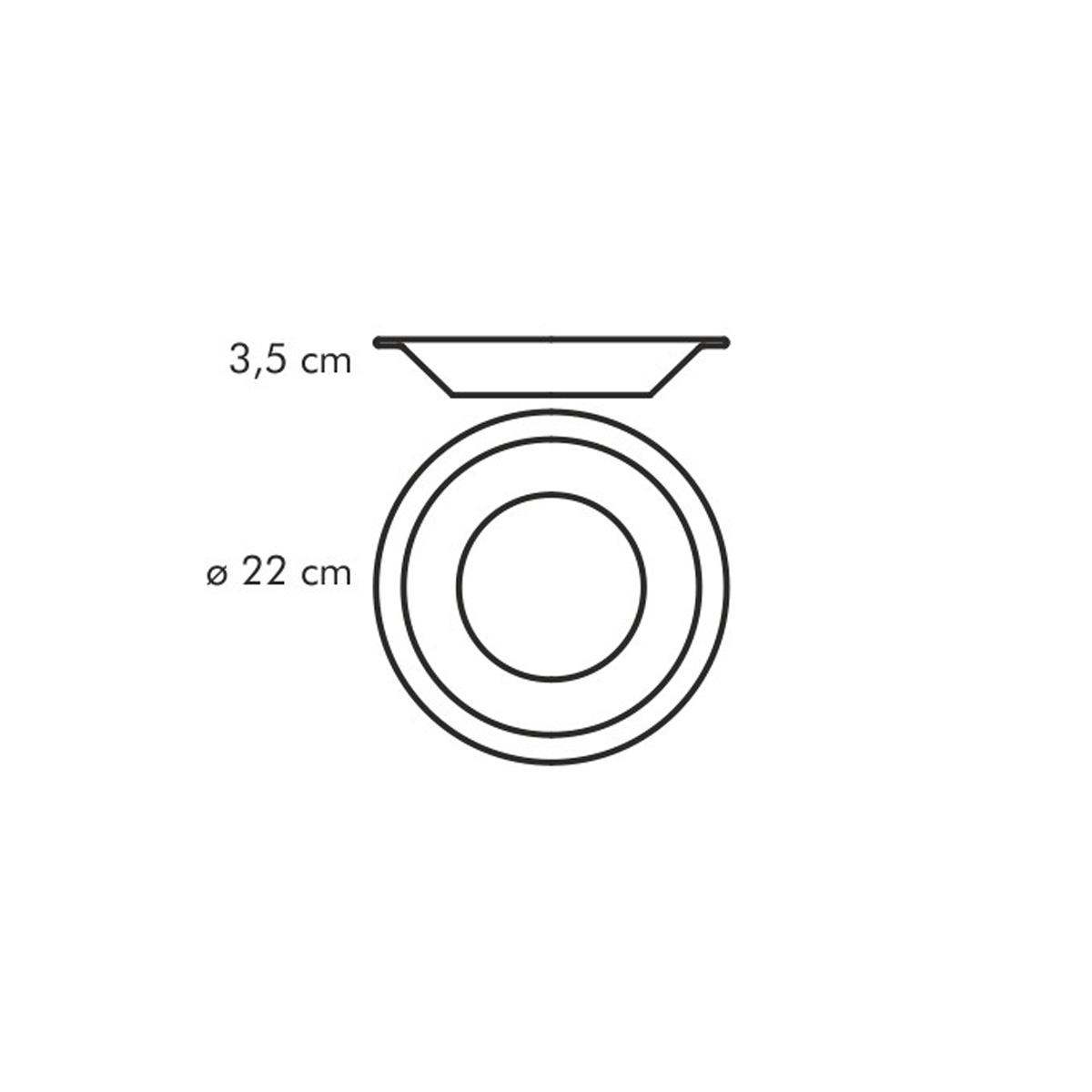 Hluboký talíř GUSTITO ø 22 cm