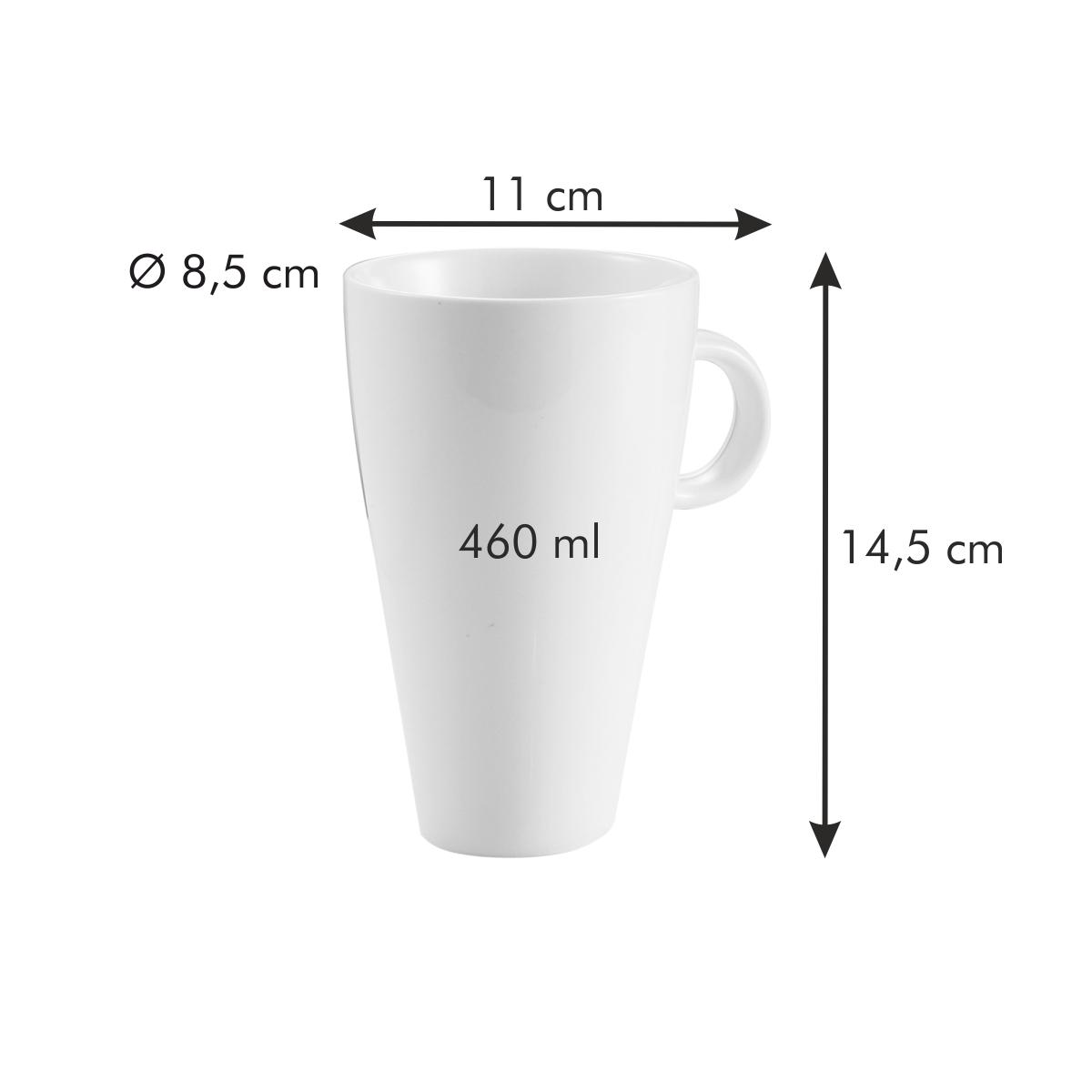 Hrnek na latte ALL FIT ONE, Slim