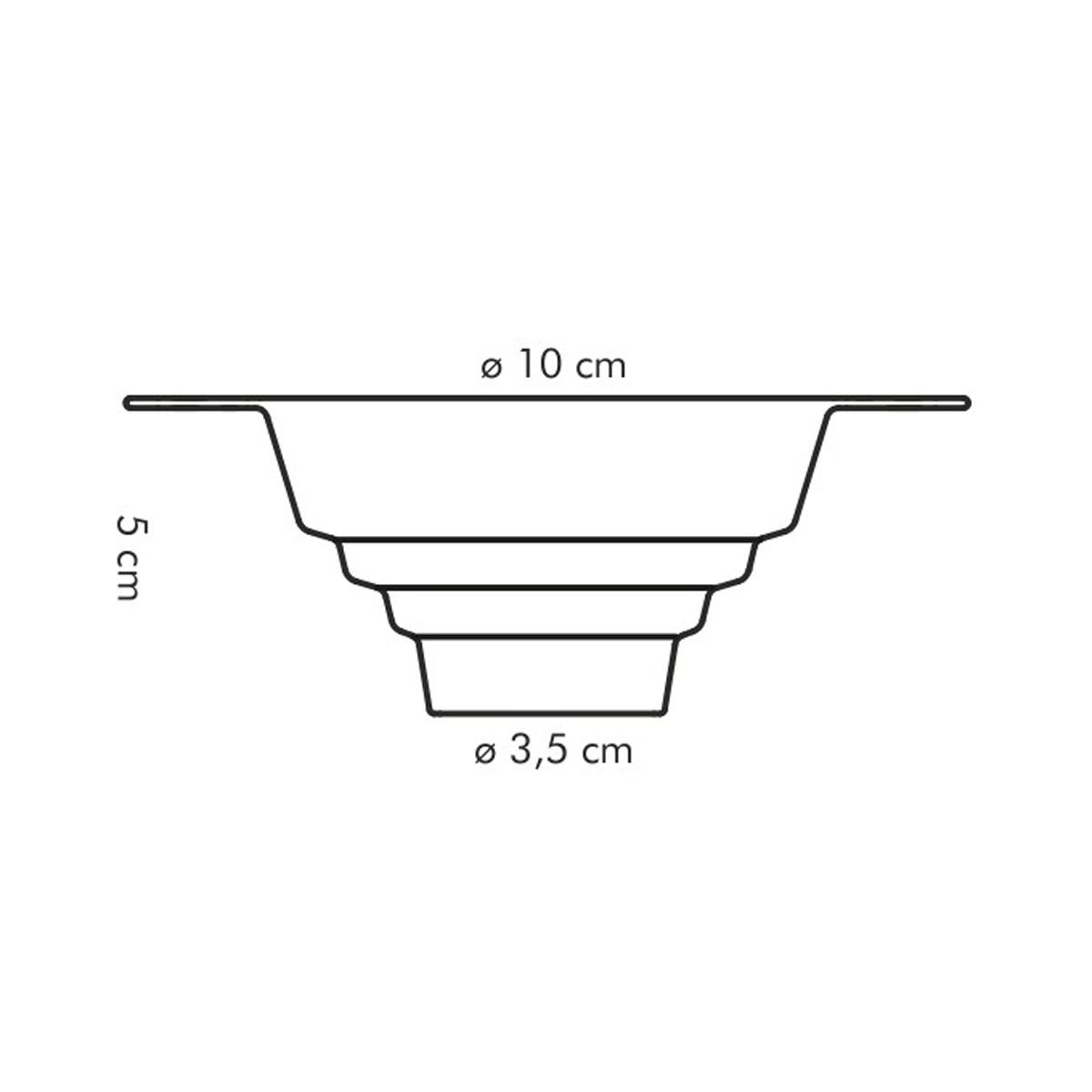 Násypka univerzální PRESTO ø 10 cm