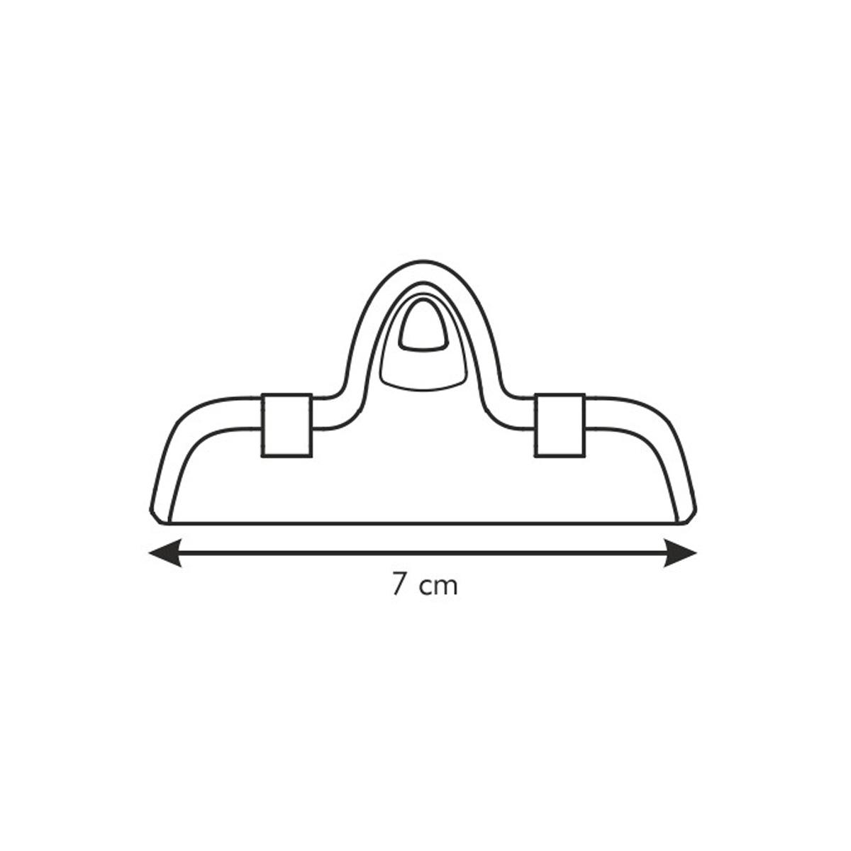 Klipsa na sáčky PRESTO 7 cm, 4 ks