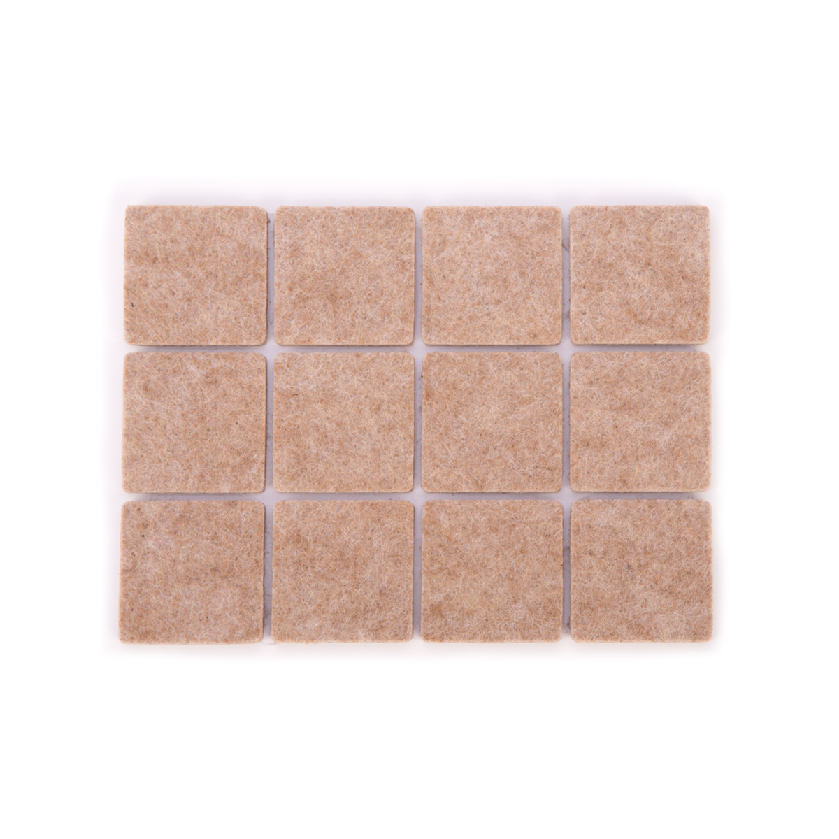 Samolepicí podložky pod nábytek PRESTO 25 x 25 mm, 24 ks
