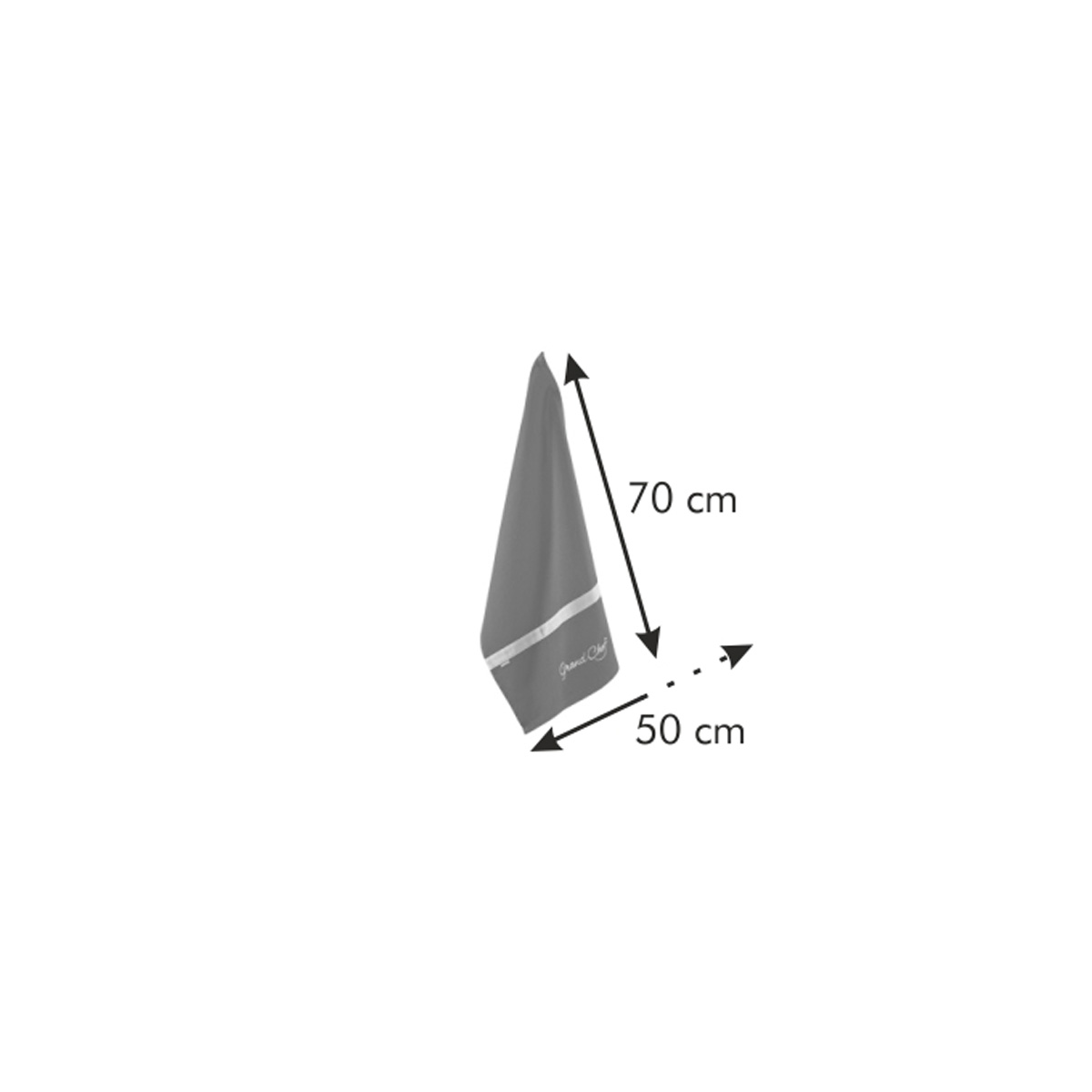Utěrka GrandCHEF 70x50 cm