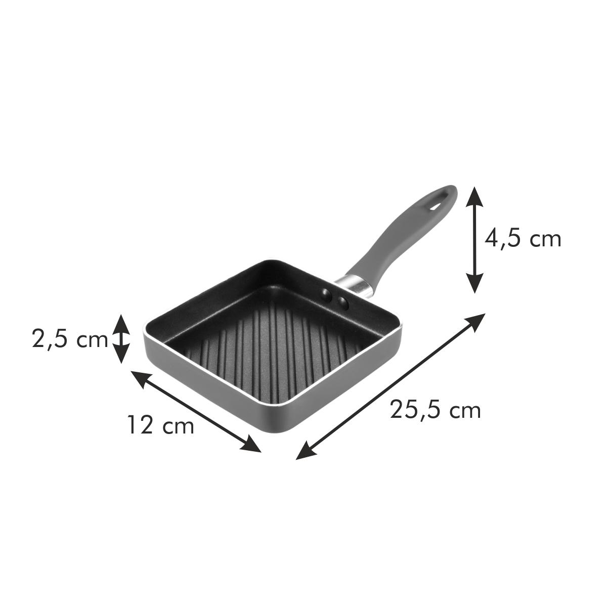 Pánev grilovací PRESTO MINI 12 x 12 cm