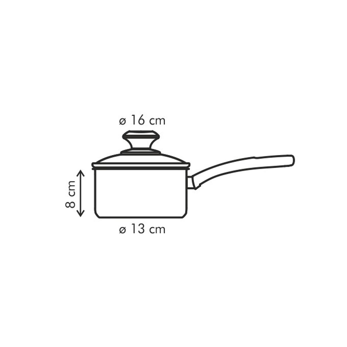 Rendlík PRESTO s poklicí ø 16 cm, 1.4 l, antiadhezní povlak
