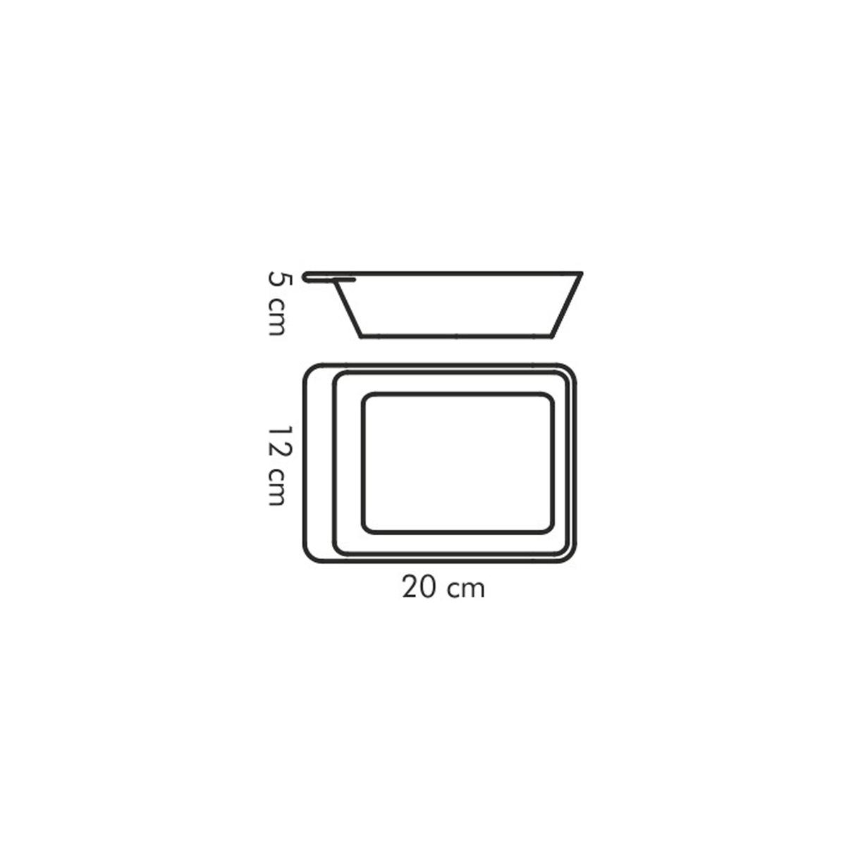 Zapékací miska servírovací GUSTO 20 x 12 cm