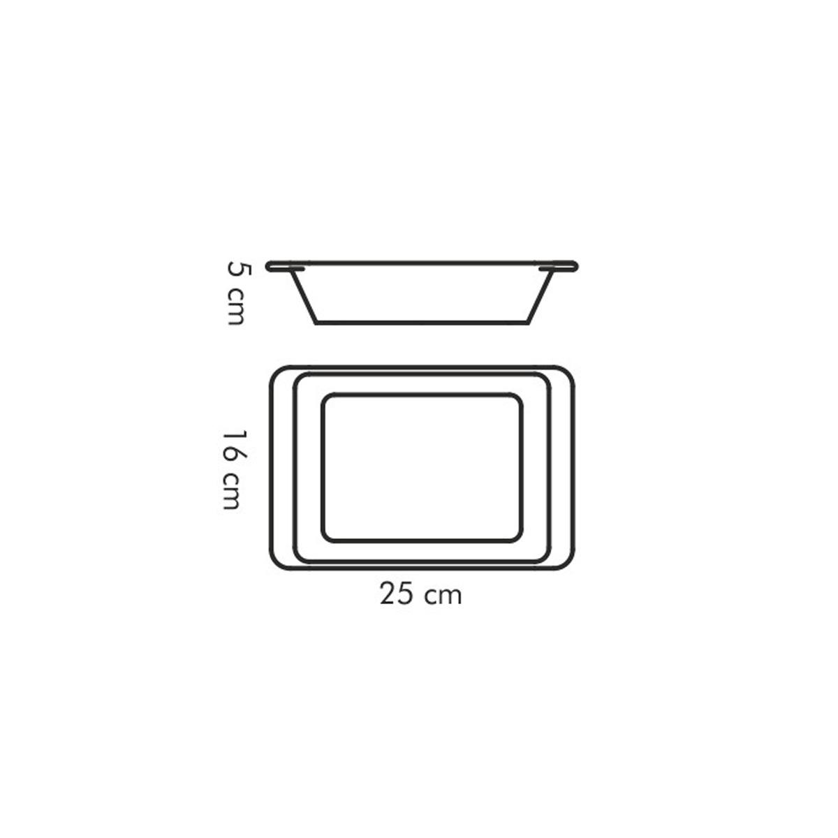 Zapékací mísa obdélníková GUSTO 25 x 16 cm