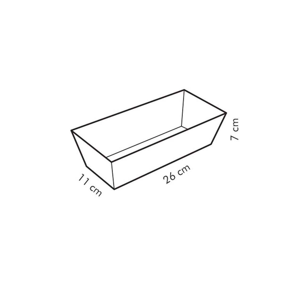 Forma bochníková DELÍCIA 26x11 cm