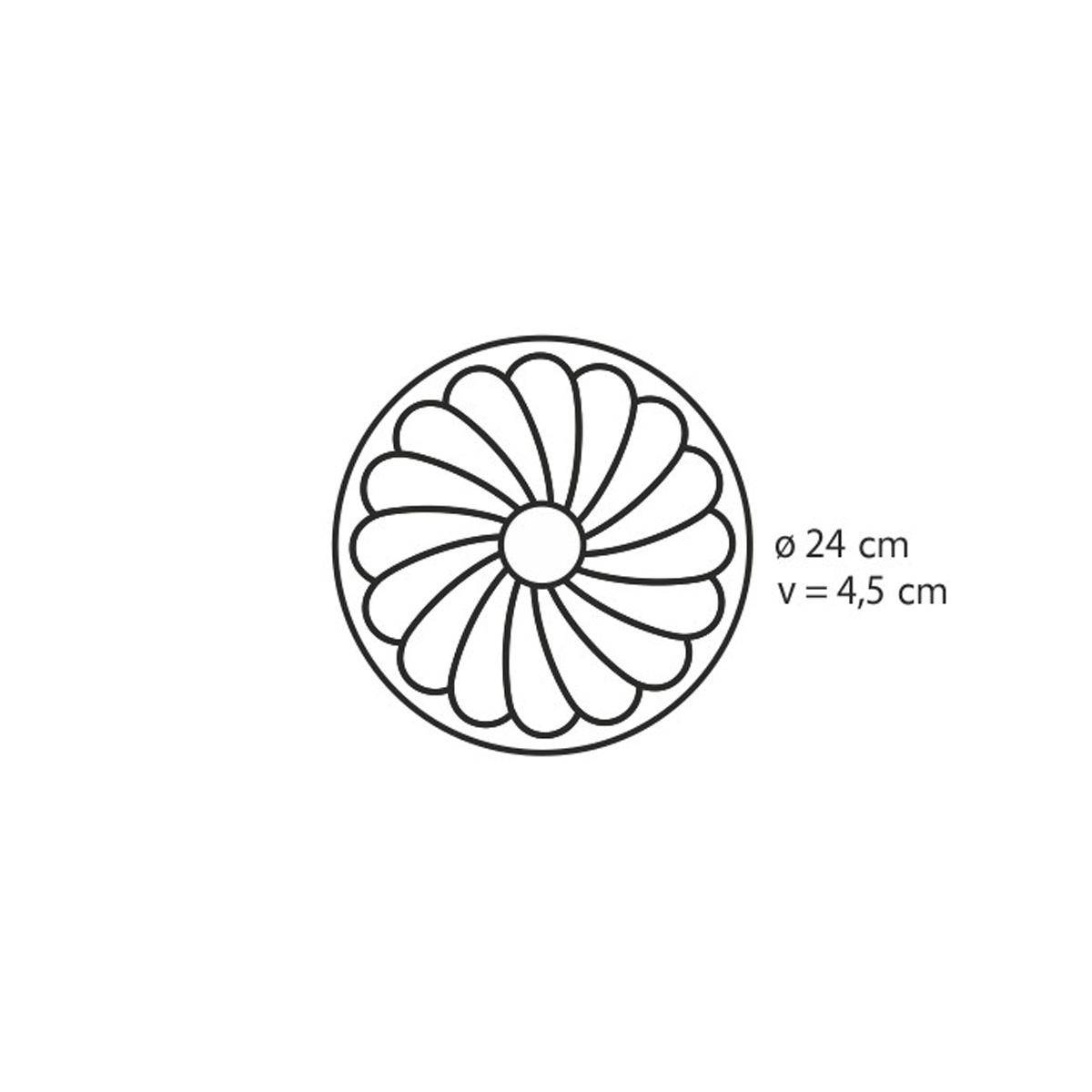 Forma na koláč květina DELÍCIA SILICONE ø 24 cm