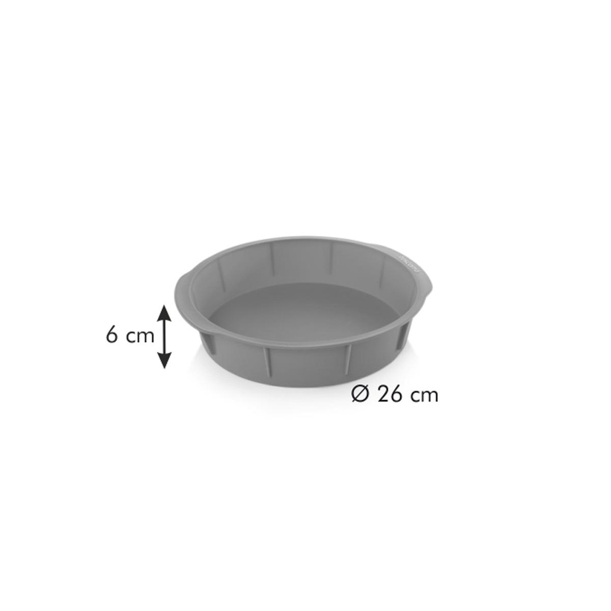 Forma na dort DELÍCIA SiliconPRIME ø 26 cm