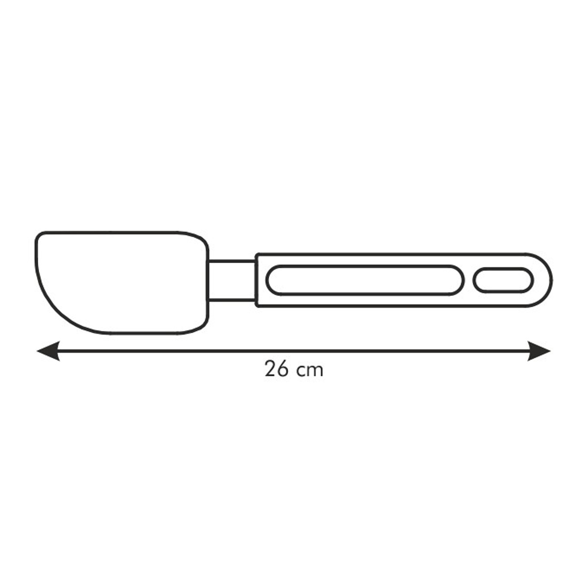 Stěrka silikonová DELÍCIA 25 cm