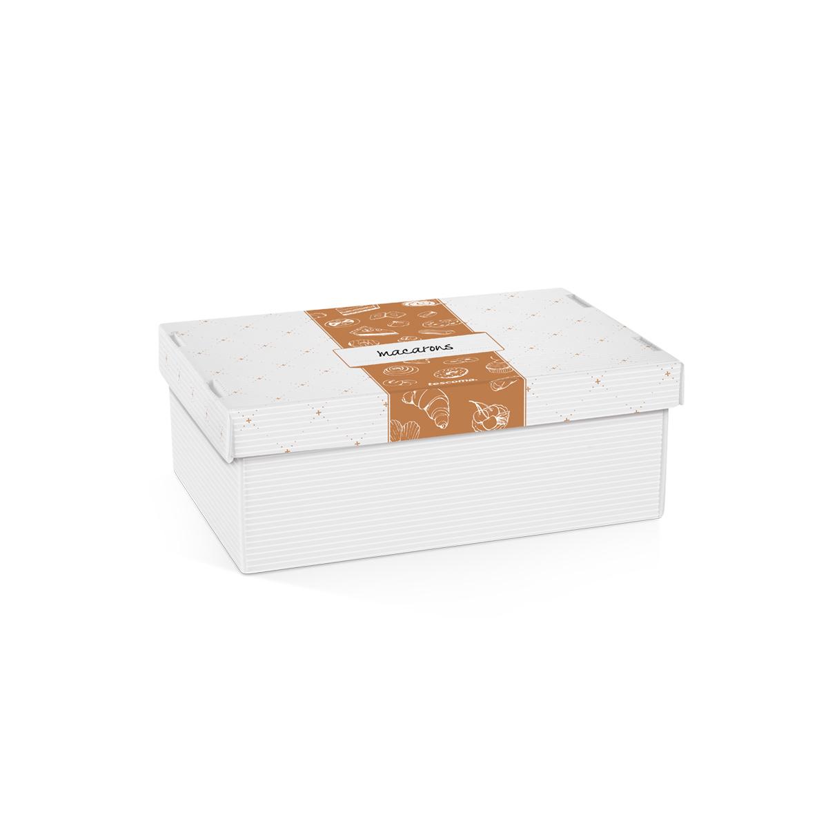 Krabice na cukroví a lahůdky DELÍCIA, 28 x 18 cm
