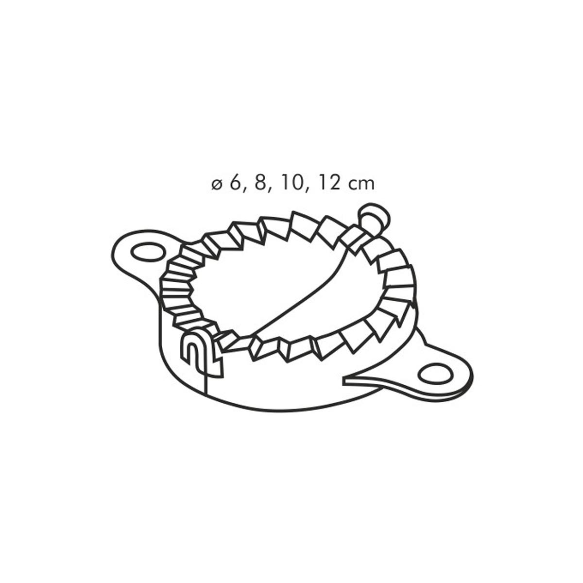 Tvořítka na plněné taštičky a těstoviny DELÍCIA 4 ks