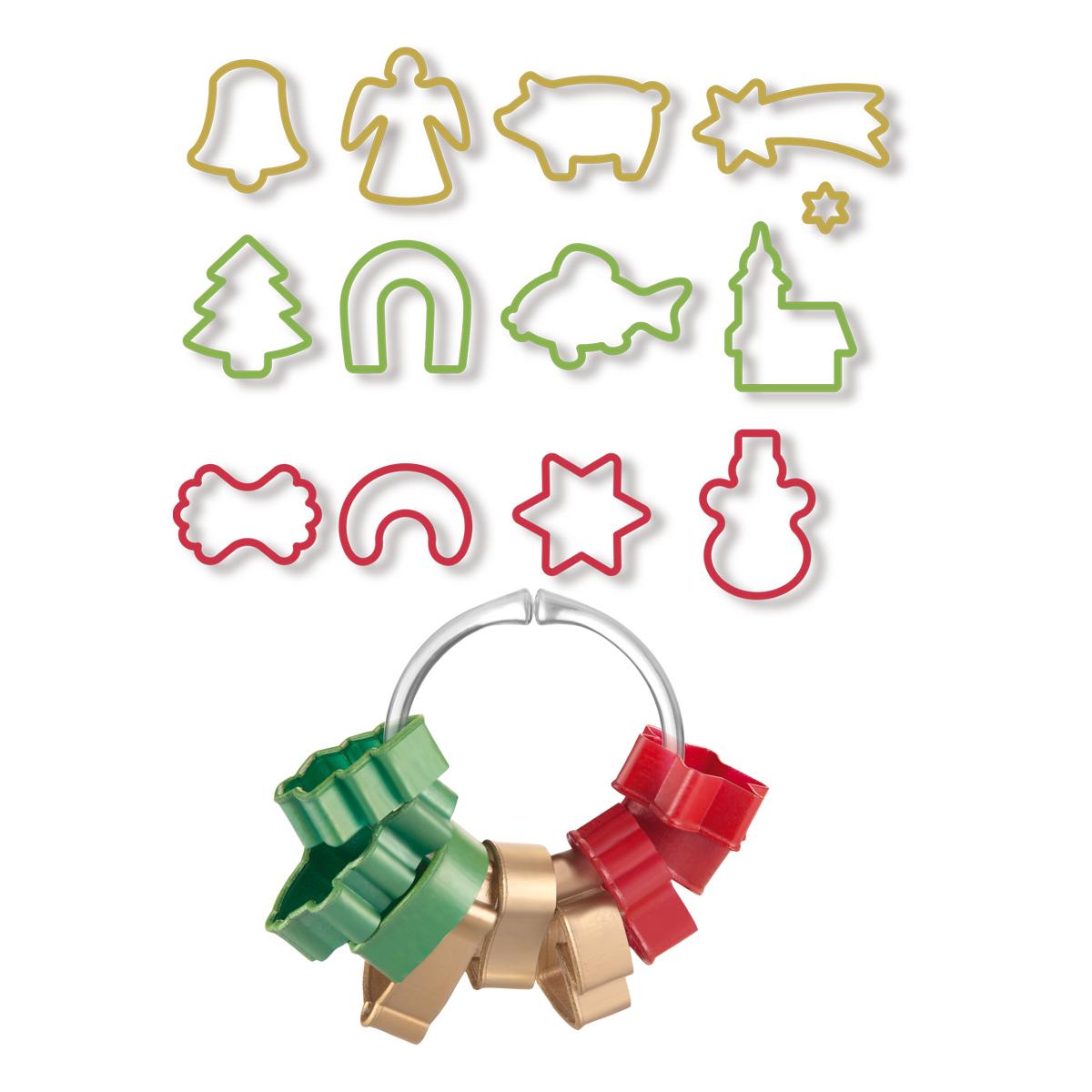 Vykrajovátka vánoční DELÍCIA, 13 ks