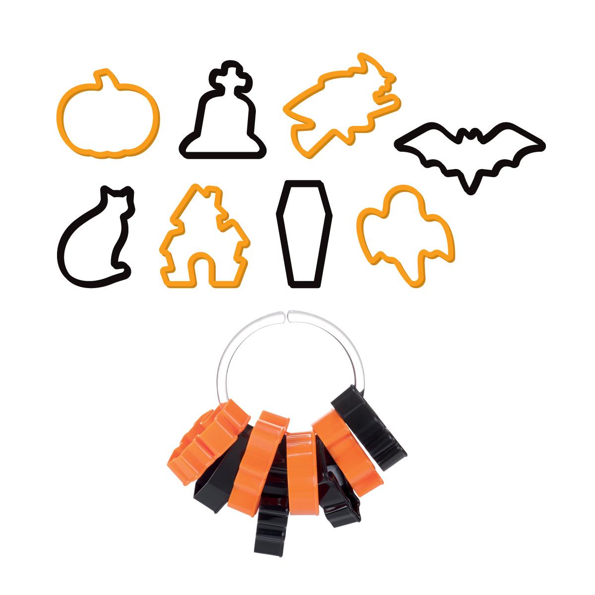 Vykrajovátka Halloween DELÍCIA , 8 ks