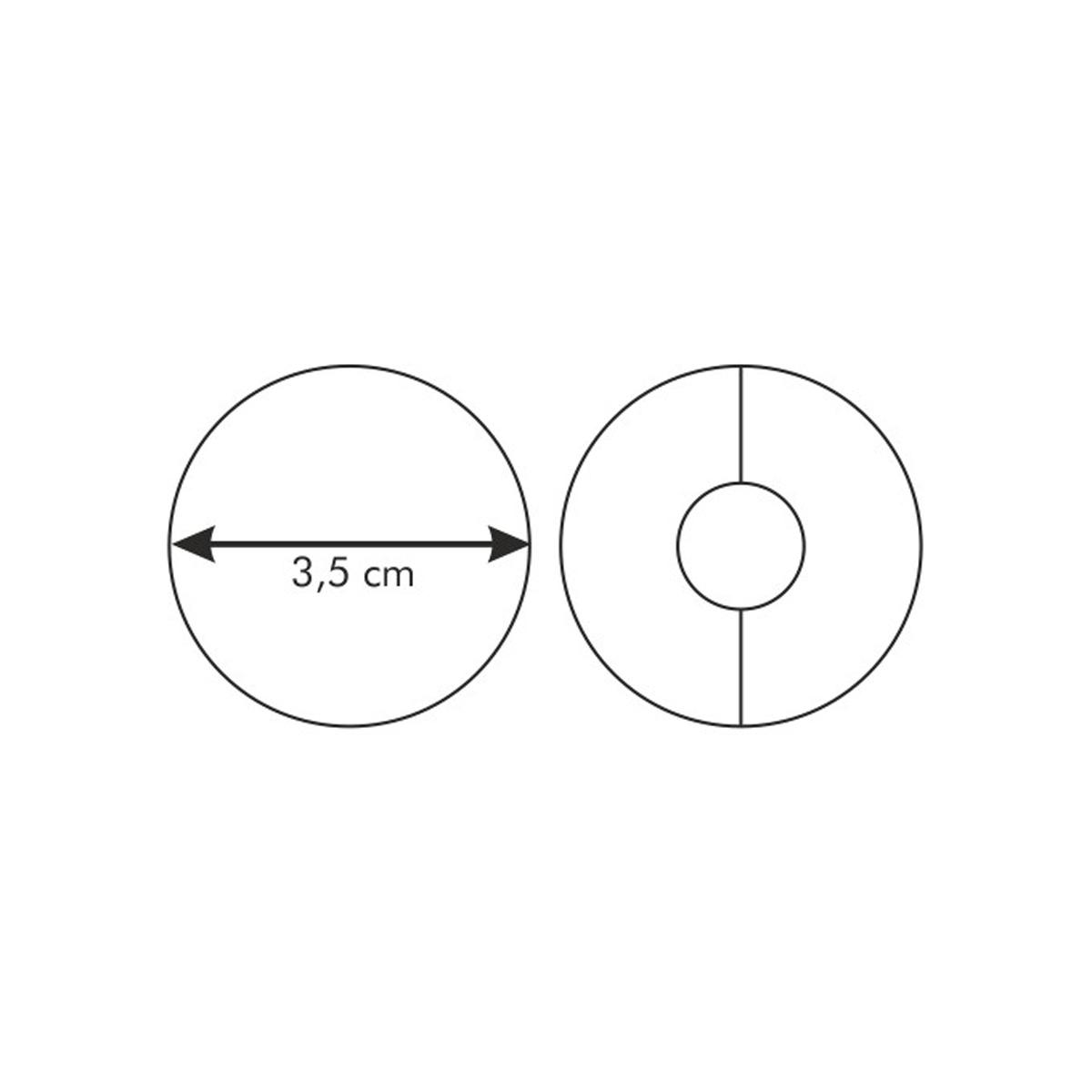 Linecké kolečko DELÍCIA ø 3.5 cm