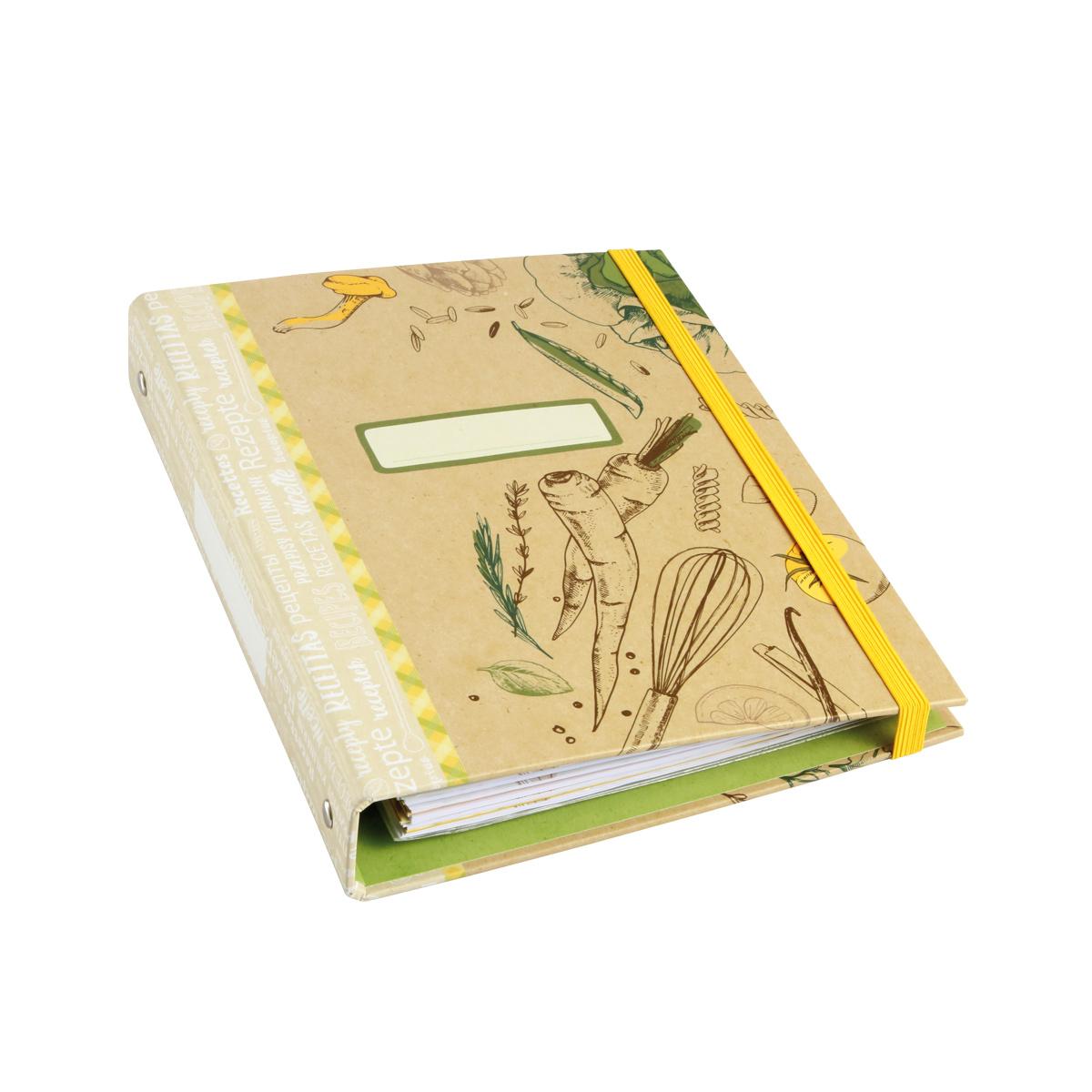 Zápisník rodinných receptů DELÍCIA